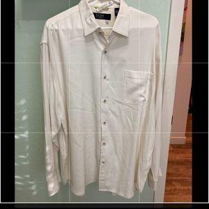 Nat Nast Luxury 💯 Silk long sleeve shirt XL